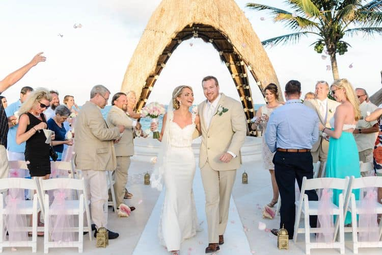 wedding in dreams riviera cancun 30