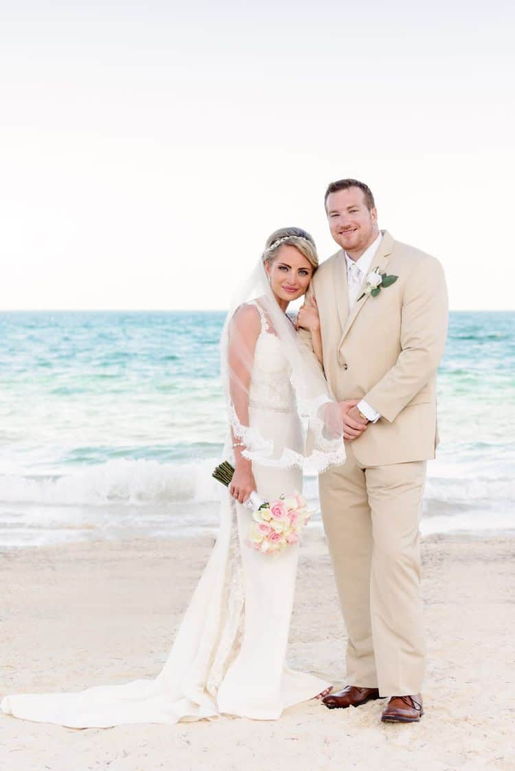 real destination wedding at Dreams Riviera Cancun