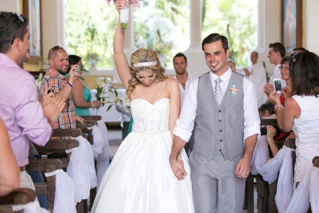 Real Riviera Maya wedding