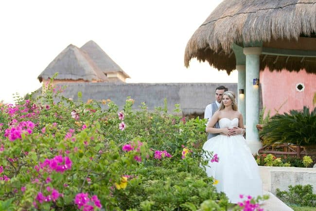 Real Riviera Maya wedding photos