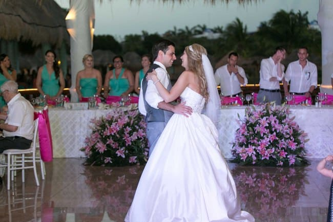 Real Destination wedding at Grand Palladium Kantenah in Riviera Maya