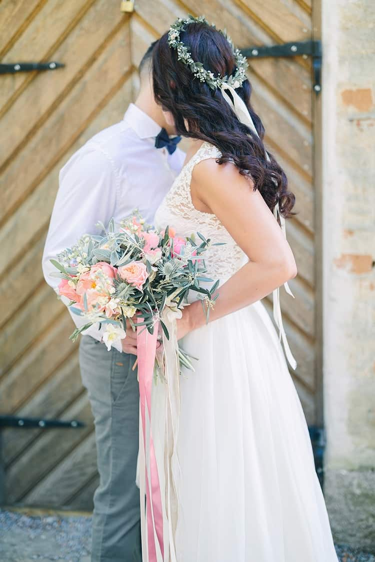 Pink Whimsical Wedding Inspiration in Sweden