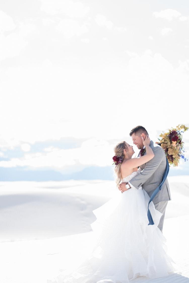 white sands national monument wedding 13