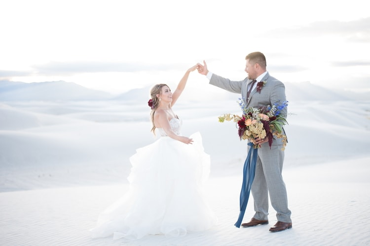 white sands national monument wedding 89